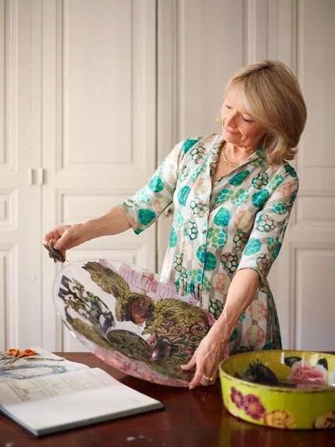 Jill Barnes-Dacey decoupage artist