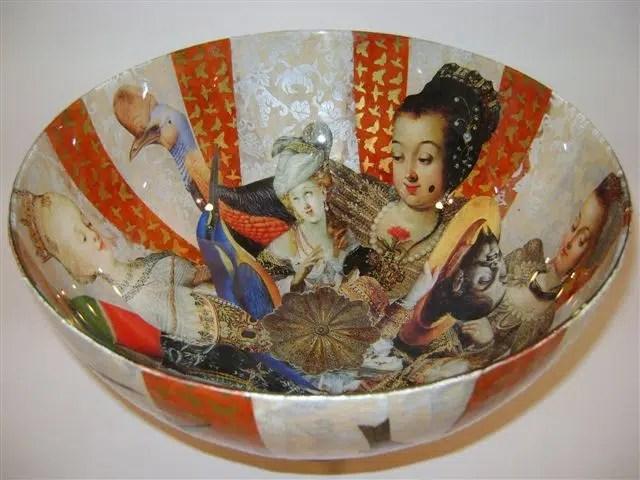 Jill Barnes-Dacey decoupage bowl1