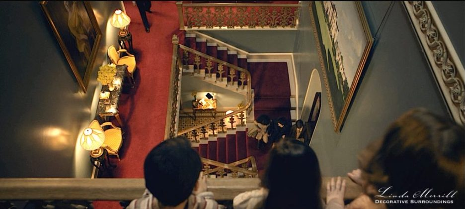 Ordeal by Innocence Stair case from above