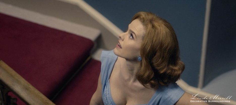 Ordeal by Innocence Stairs Alice Eve