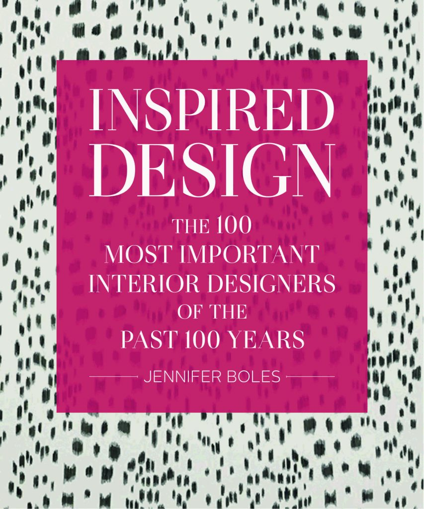 Jennifer Boles Inspired Design book cover Fall 2018 Design Books
