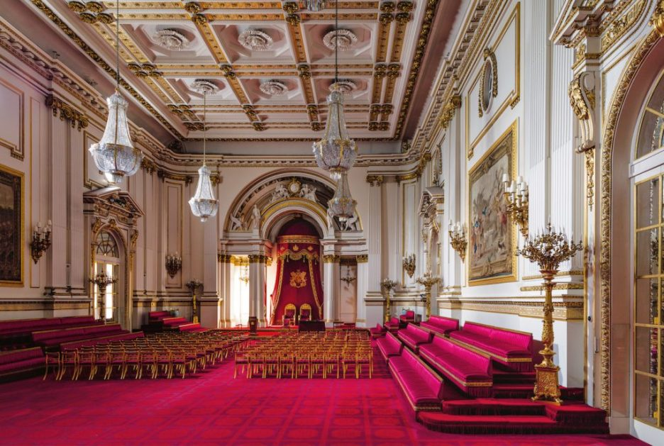 Buckingham Palace Ashley Hicks Ballroom Fall 2018 Design Books