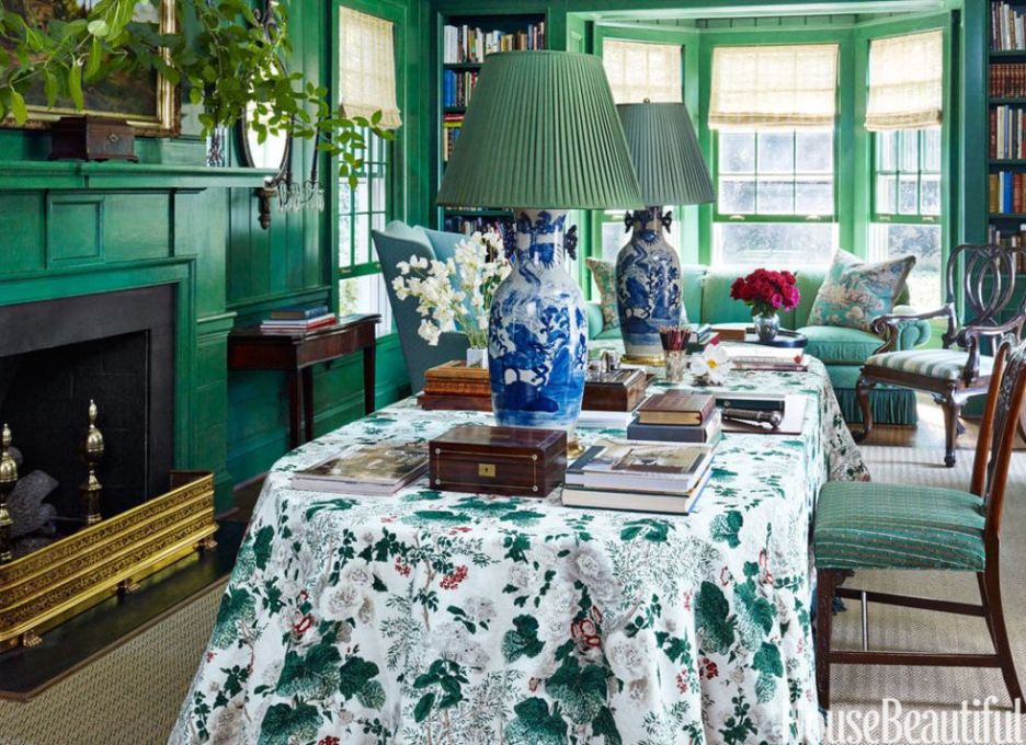 Miles Redd design Peter Murdock photography for House Beautiful