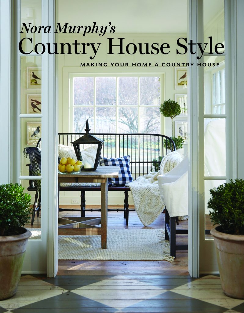 Nora Murphy's Country House Style book cover Fall 2018 Design Books