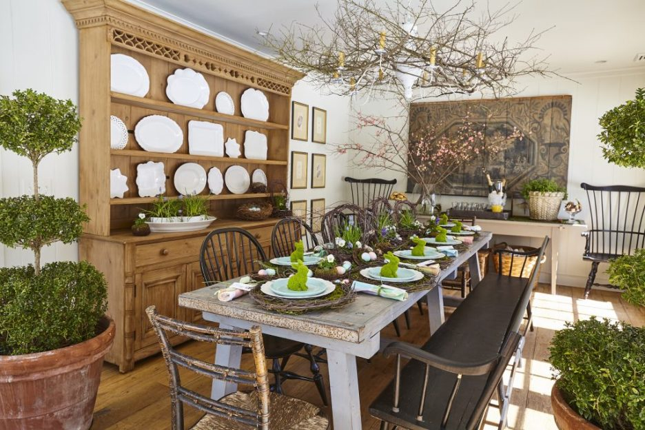 Nora Murphy's Country House Style dining room Fall 2018 Design Books