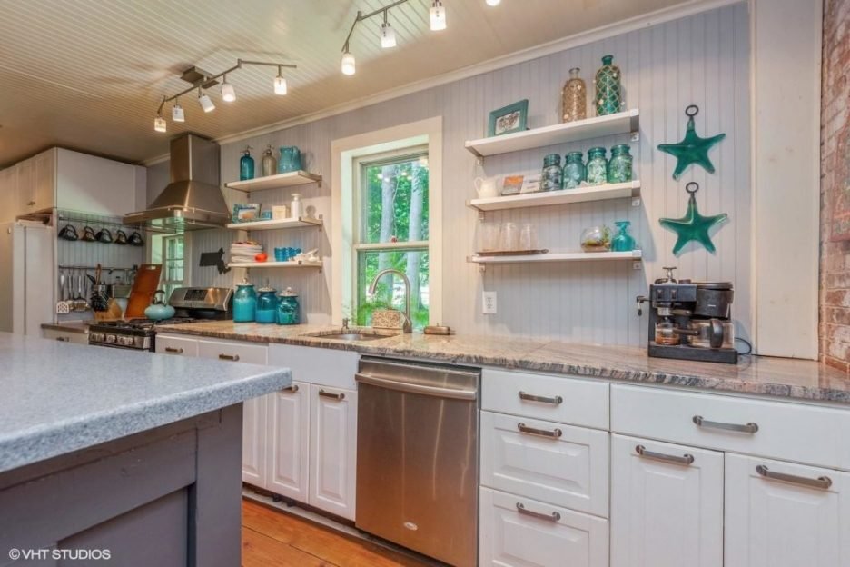 Antique Cape Cod Sandwich MA kitchen 2