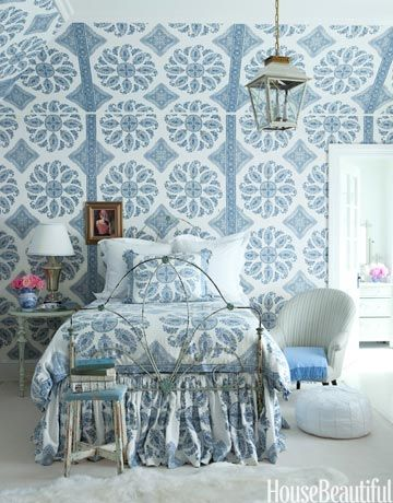 Design Nuggets Wallpaper On Ceilings And Angles Linda Merrill
