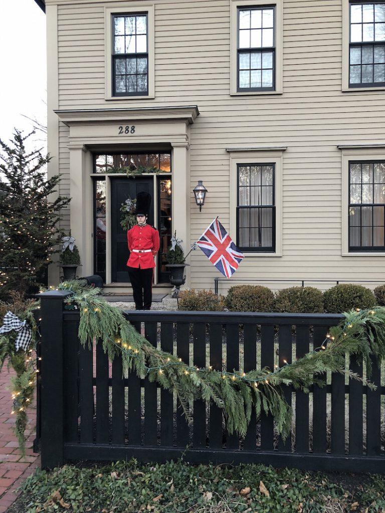 288 High Street Exterior Christmas Holiday House Tour 2018
