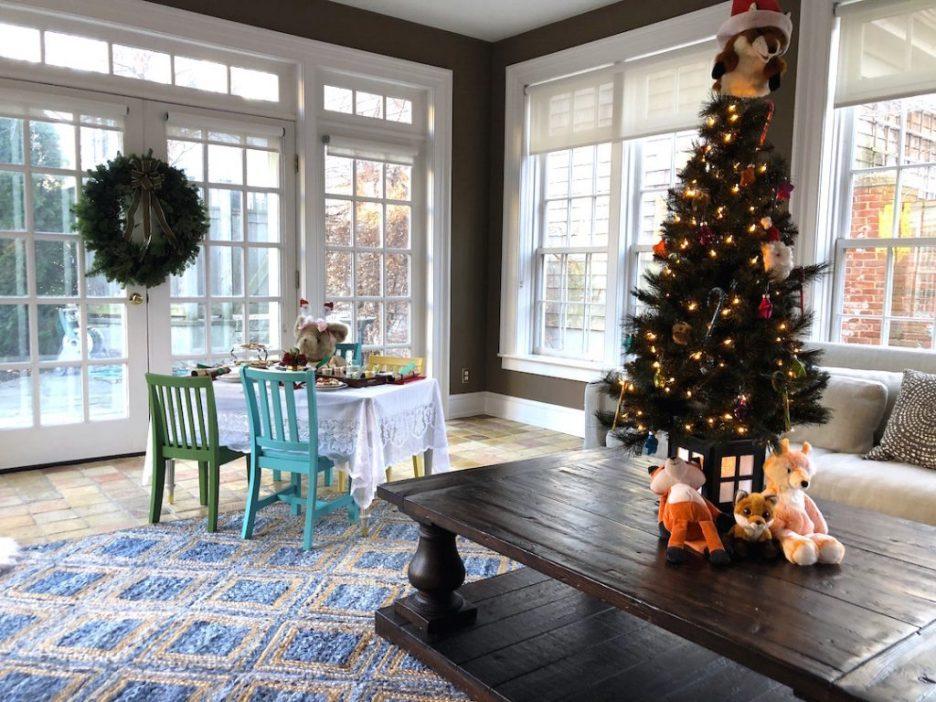 19 Federal St Sun Room Christmas Holiday House Tour 2018