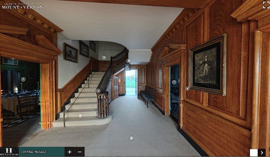 Mt. Vernon Cental Passage stairway