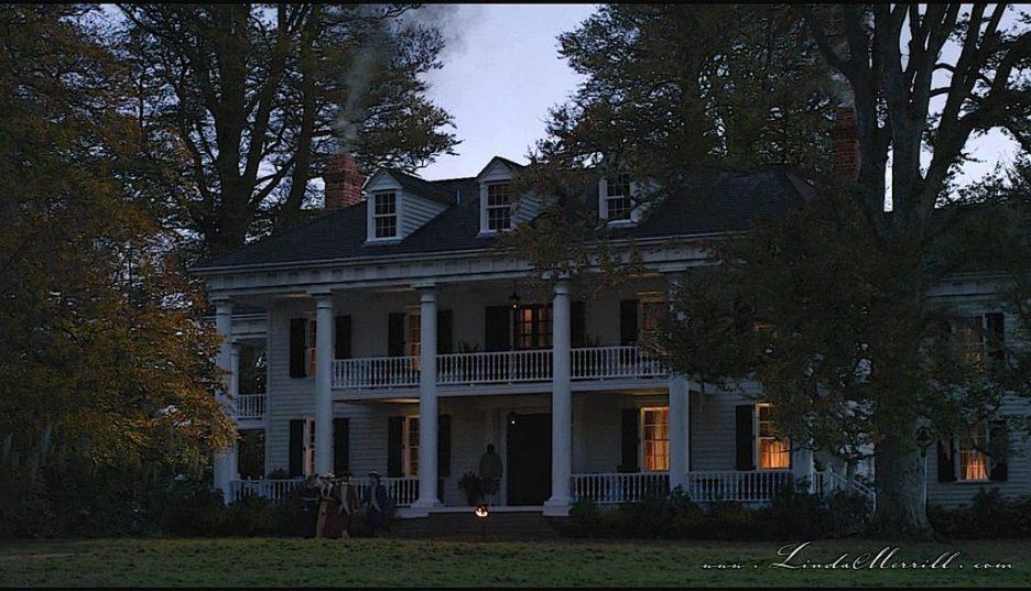 Outlander River Run House exterior nighttime 2