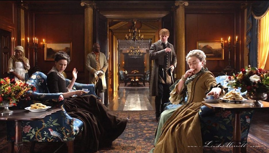 Parlor Outlander River Run Interior house sitting room to hall 2