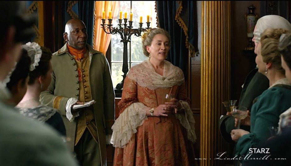 Party Outlander River Run Auntie Jocasta toast 2