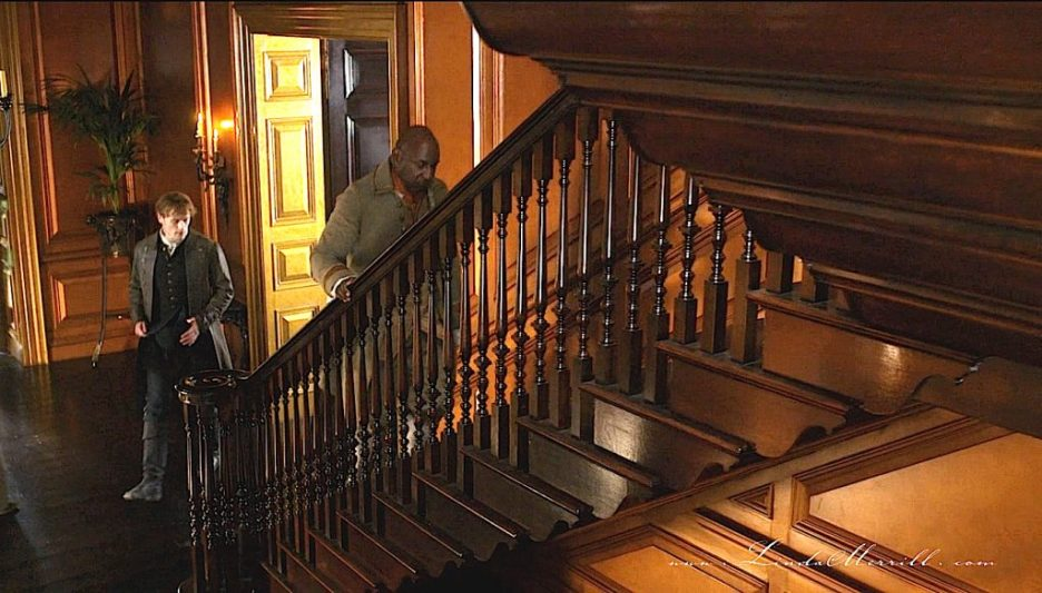 Stairs Outlander River Run Interior house hall stair case jamie ulysses