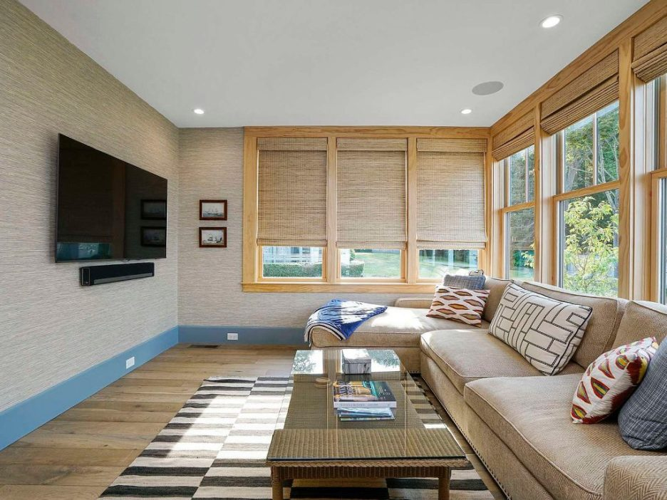 46 Winsor Street Duxbury Bay Ocean view tv room 2 Duxbury Bay Home