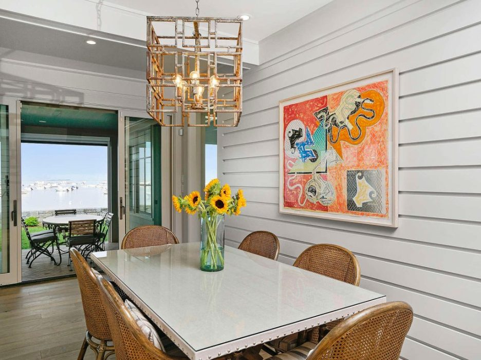 46 Winsor Street Duxbury Bay Ocean view dining room Duxbury Bay Home