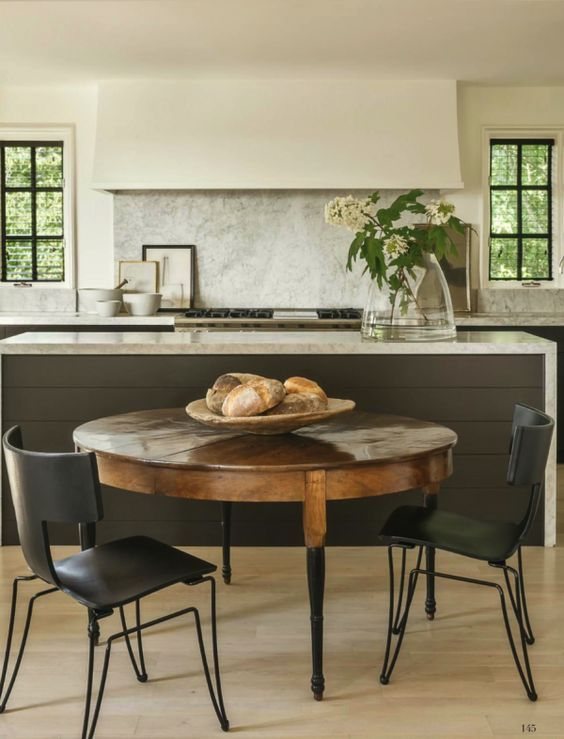 Betsy Brown Inc designer and paul-bates-architects kitchen family heirlooms