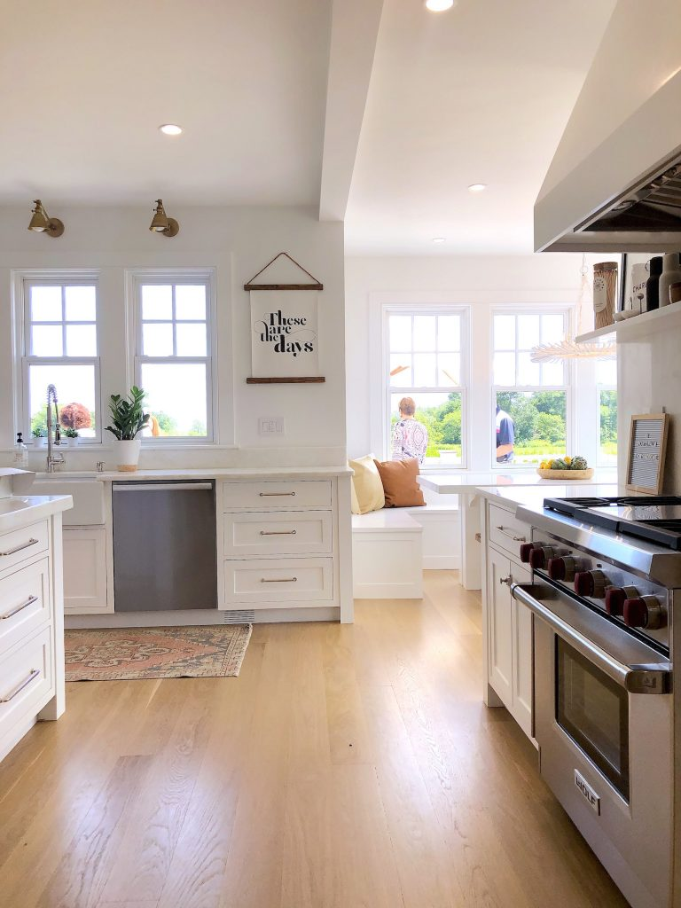 163 High Rd Newburyport Kitchen Tour 2019 Modern Black and White Kitchen LMM