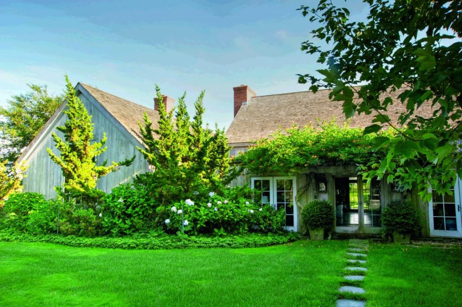 Behind the Privets Classic Hamptons Houses Ryan front
