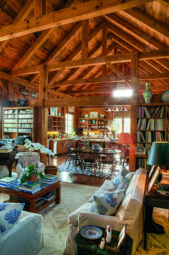 Behind the Privets Classic Hamptons Houses Ryan living room