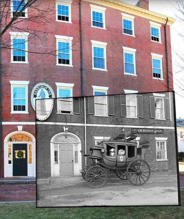 Garrison Inn facade Old World Hospitality