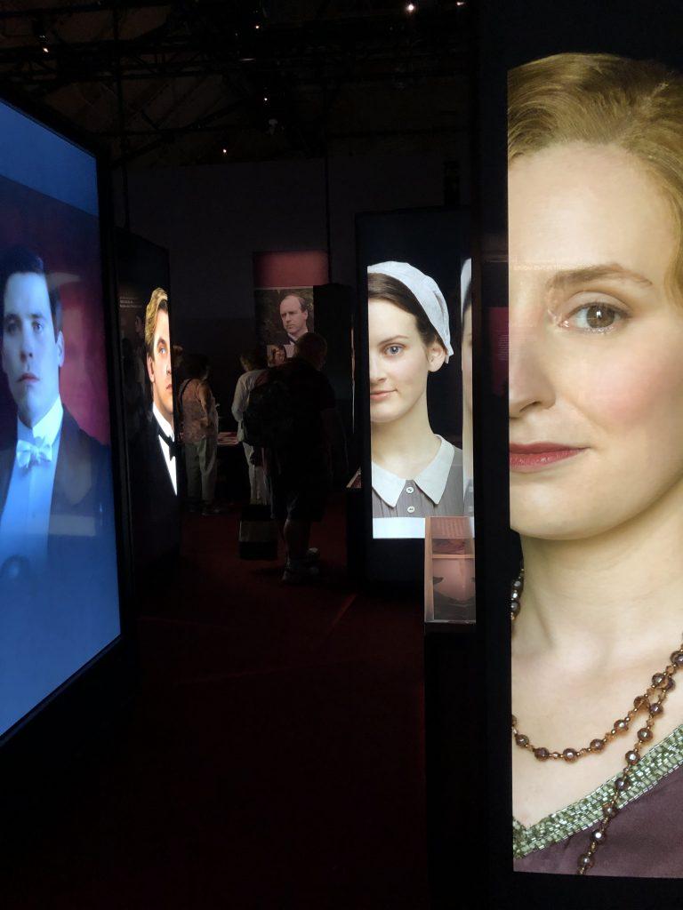 Downton Abbey Exhibition Faces 1