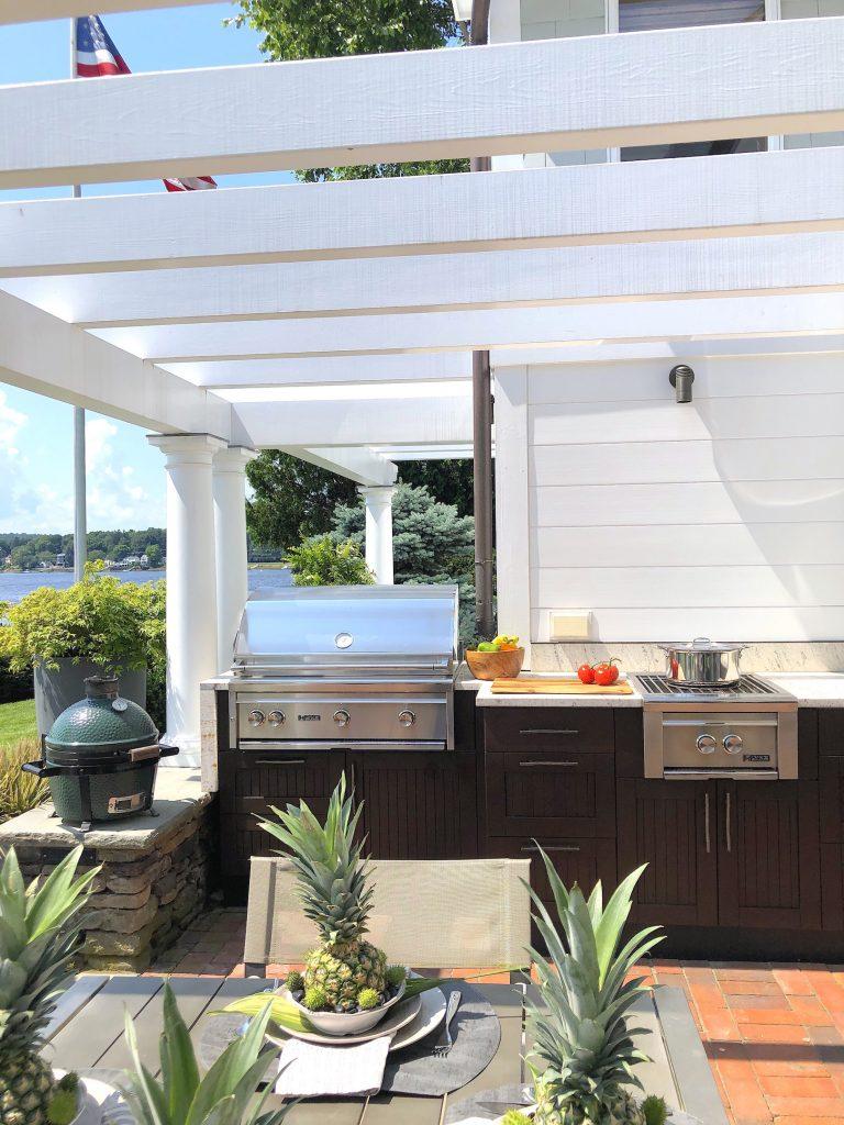 Main St Waterfront outdoor kitchen 2