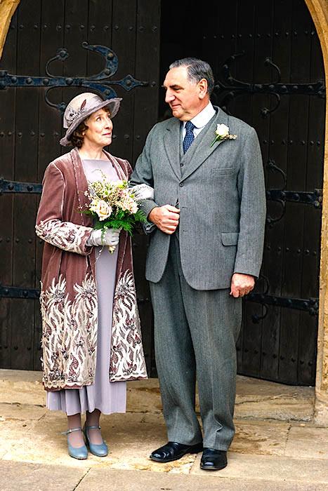 Hughes Carson Wedding outfits