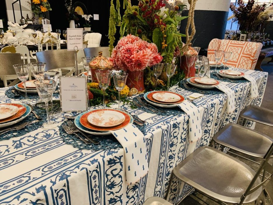 Designer Elizabeth Benedict Heading Home to dinner 2019 Beautiful Tablescapes top