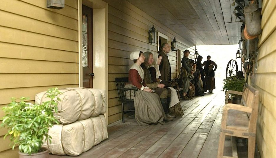 Starz Outlander The ridge back entrance waiting room outlander-online season 5