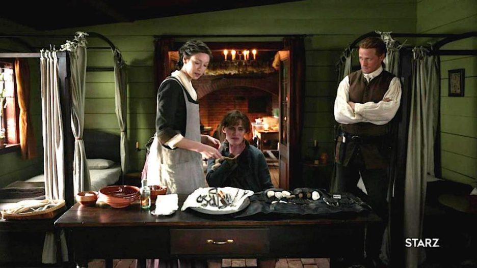 Starz Outlander The ridge surgery Claire Jamie outlander-online season 5