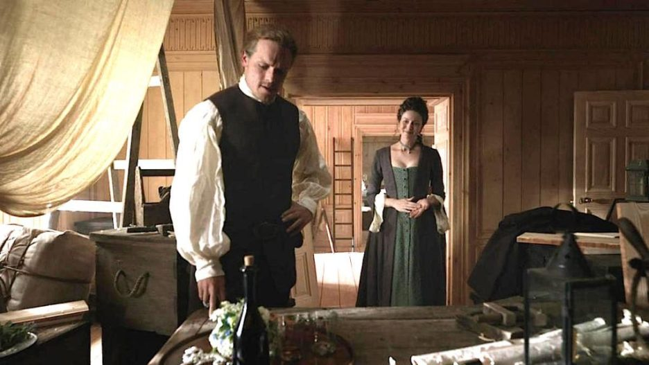 Starz Outlander The Ridge Big House interior Jamie Claire Outlander-Online Season 5