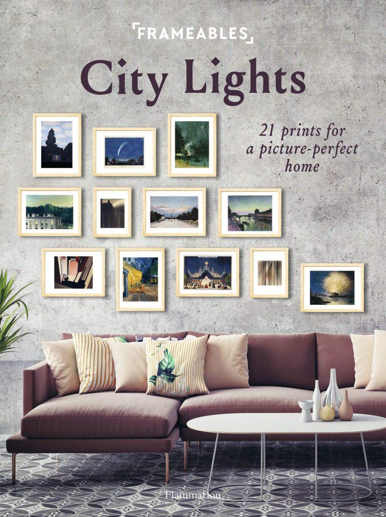 Frameables City Lights Flammiron Press Framed art