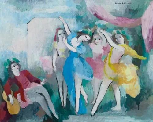 Laurencin, Marie (Paris, 31–10–1883 - Paris, 08–06–1956)