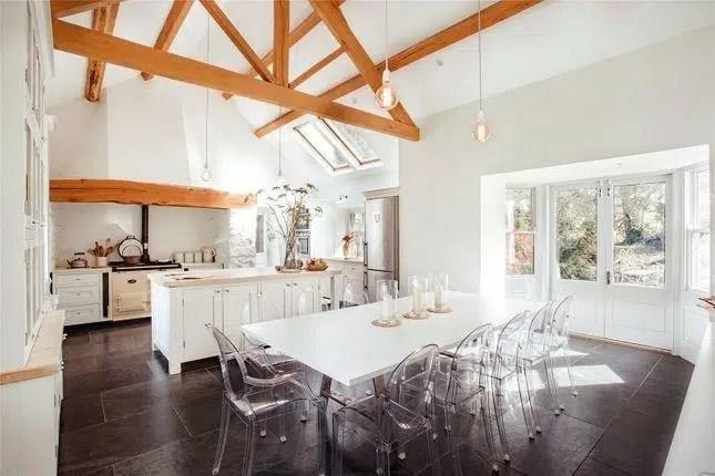Rhydyclafdy, Pwllheli, Gwynedd Scandi New England white Kitchen 1