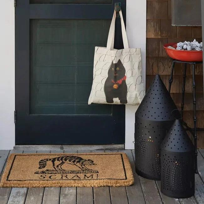 John Derian Halloween for Target cat bag scram mat lanterns