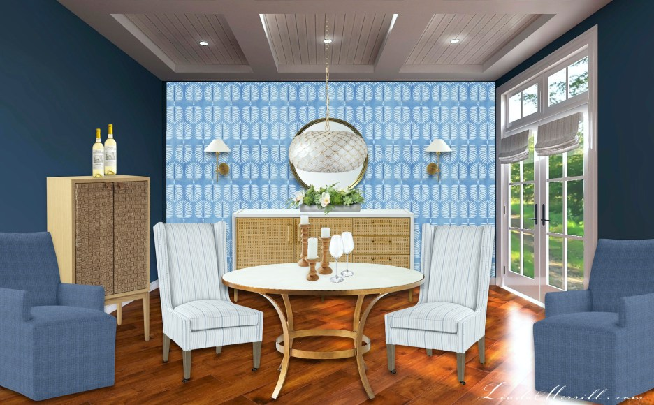 Linda Merrill Serena & Lily Beachy Style Dining Room