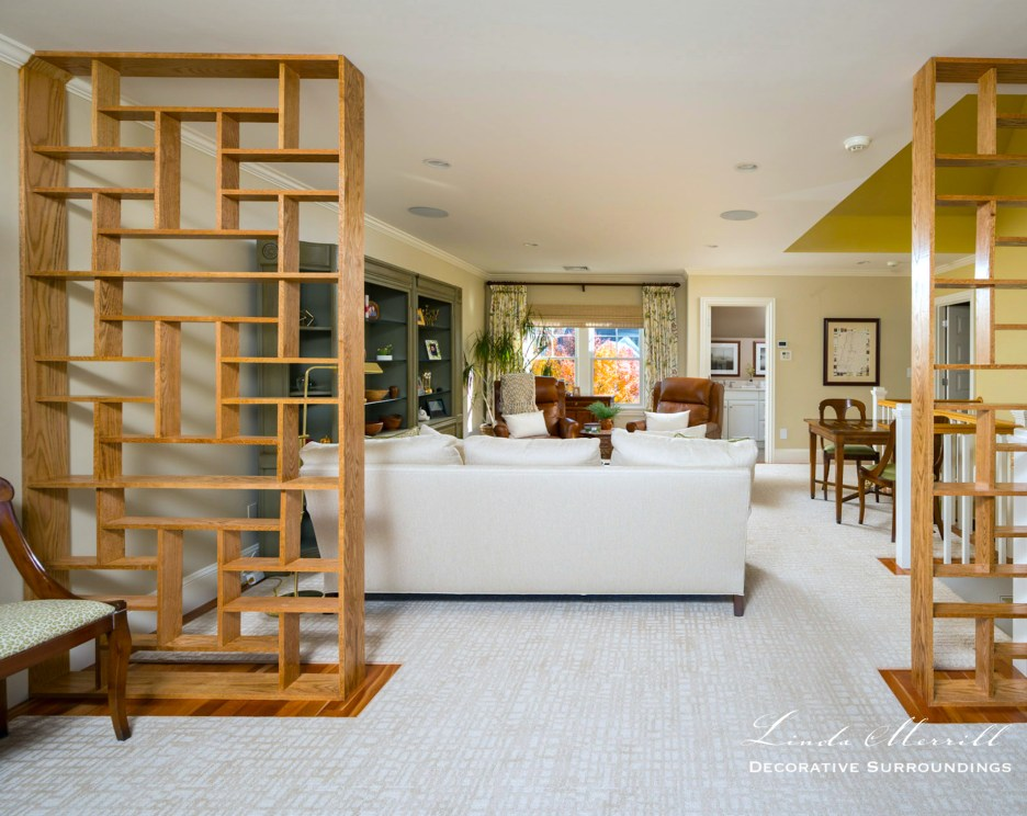 Linda Merrill hingham massachusetts sitting room work from home
