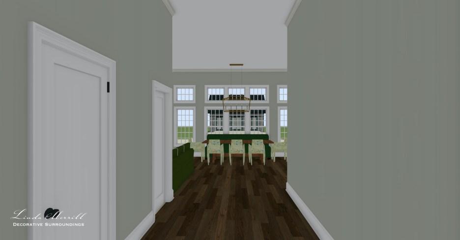 052821 3 Front entrance Linda Merrill dream home 2021