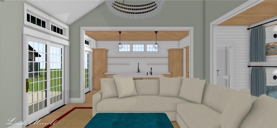 Linda Merrill Pool House 3 Dream home 2021