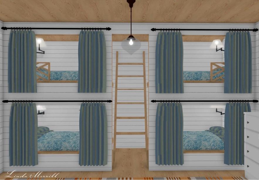 Linda Merrill Dream Home 2021 Bunk space
