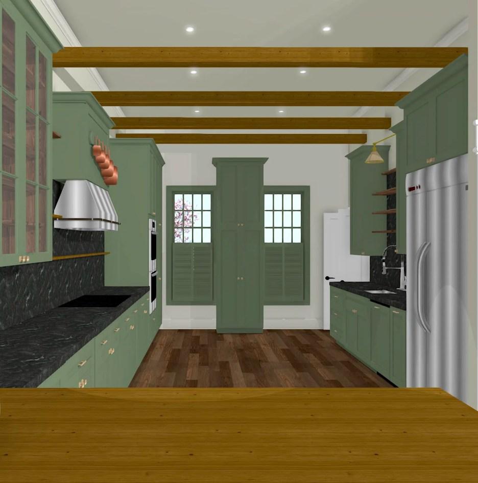 Linda Merrill Dream Home Kitchen