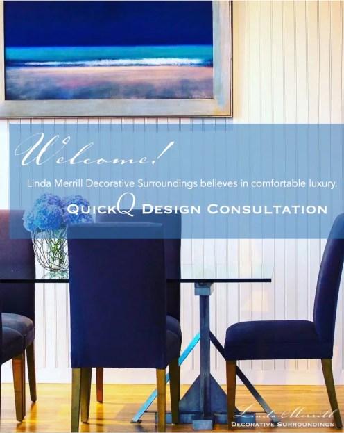 LMDS QuickQ Design Consultation Interior Design Linda Merrill cover