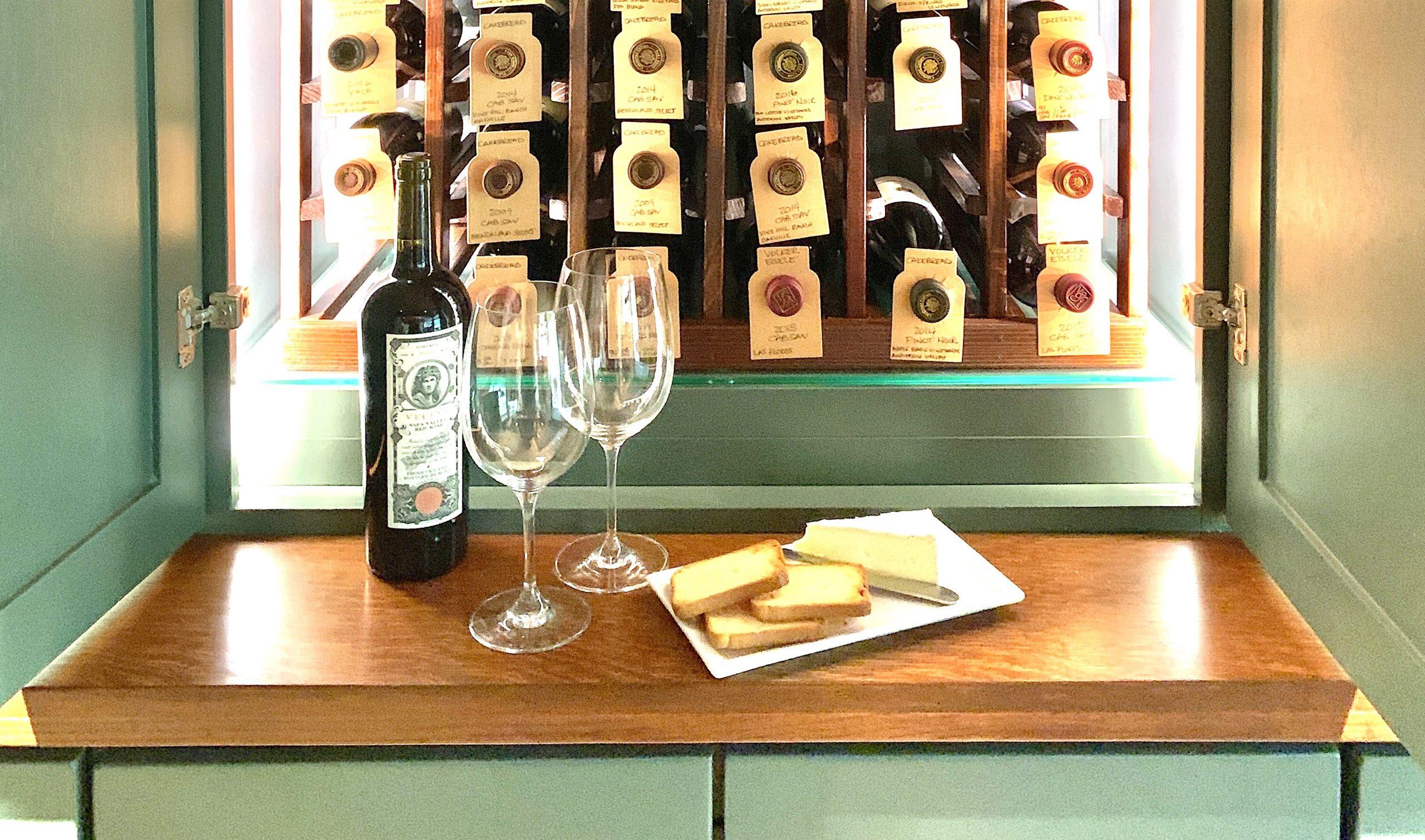 Linda Merrill Wine Cabinet headers