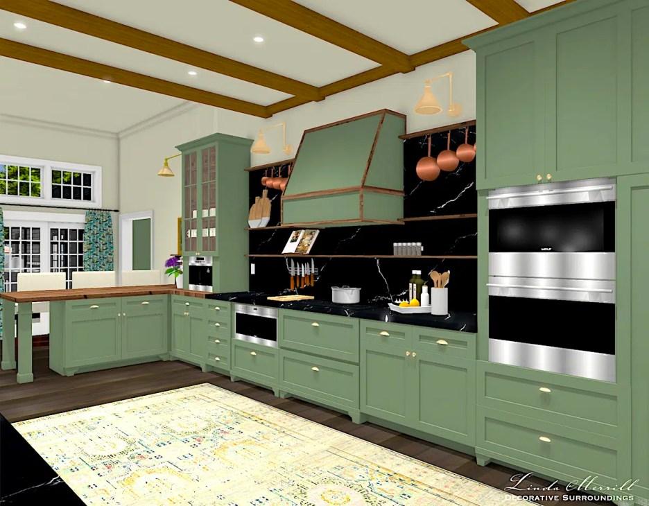 081021 LMDS Dream Home 2021 Dream Kitchen from hall door