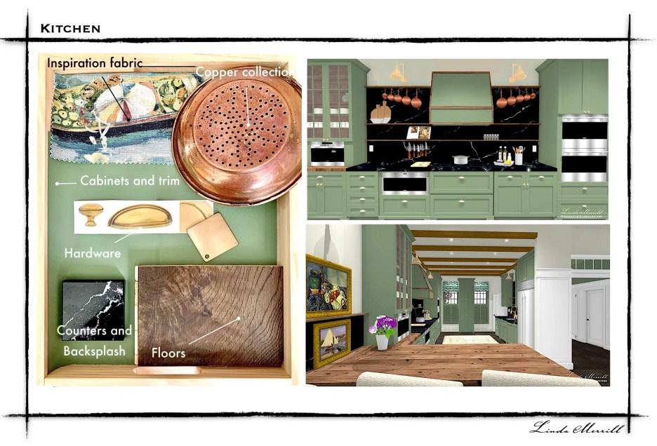 Linda Merrill Dream Home 2021 Webpage graphics Kitchen