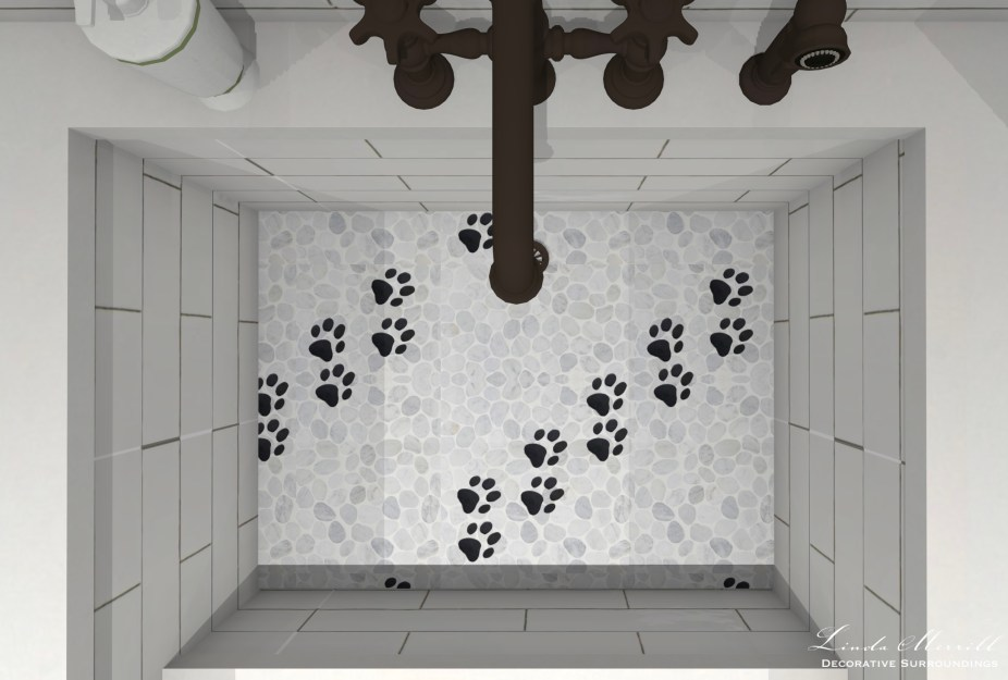 Linda Merrill Decorative Surroundings Dream Home 2021 Sink overhead close