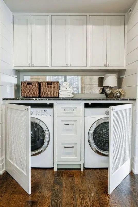 Edward Deegan Architects hidden laundry