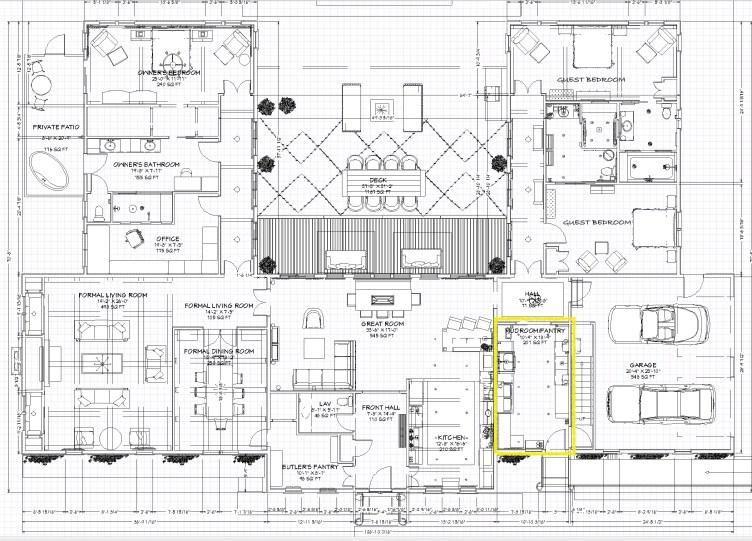 Linda Merrill Decorative Surroundings Dream Home 2021 Floorplan Mudroom Laundry