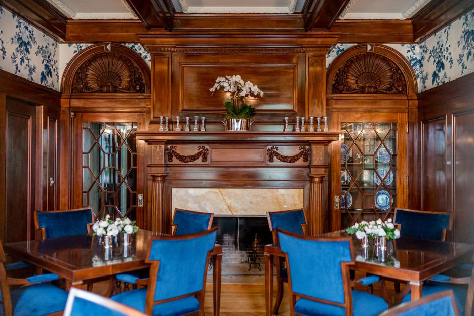 Photo by Rodeo and Co Burklynn Hall renovation dining room 2